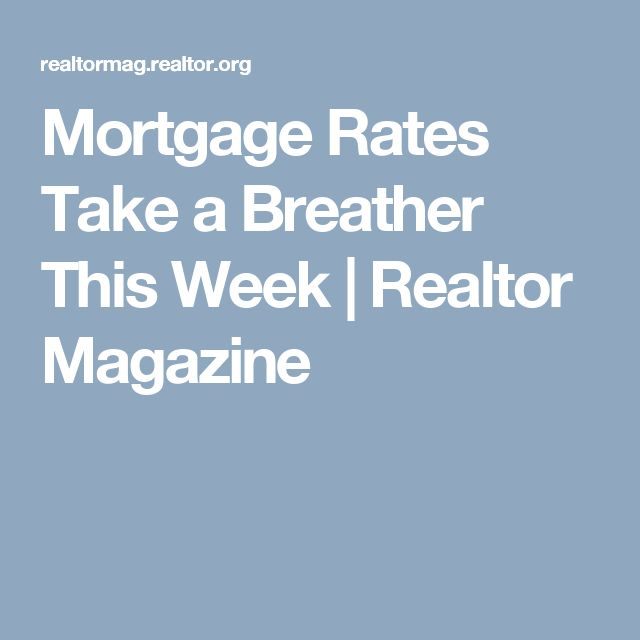 current mortgage rates 30 year fixed