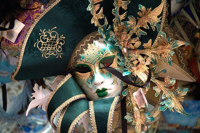 Venetian Carnival Mask - Maschera di Carnevale - Venice Italy - Creative Commons by gnuckx by gnuckx, via Flickr
