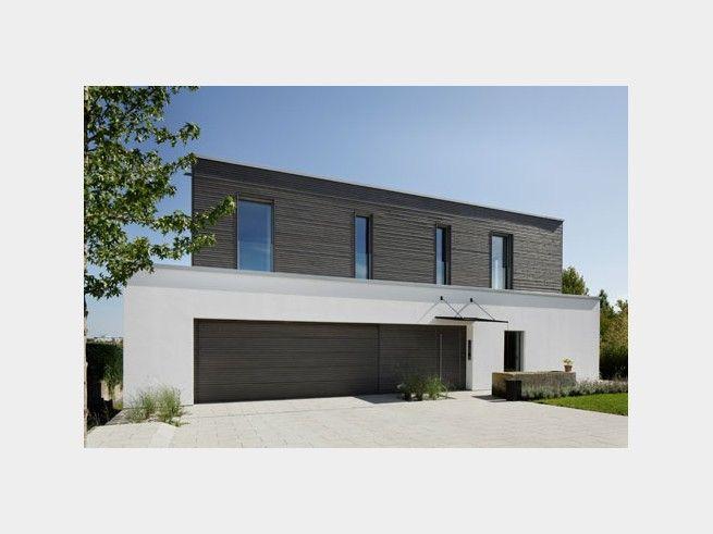 390 besten energiesparh user bilder auf pinterest balkon for Einfamilienhaus flachdach grundriss