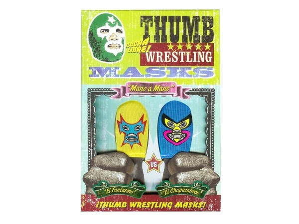 how to make thumb wrestling masks