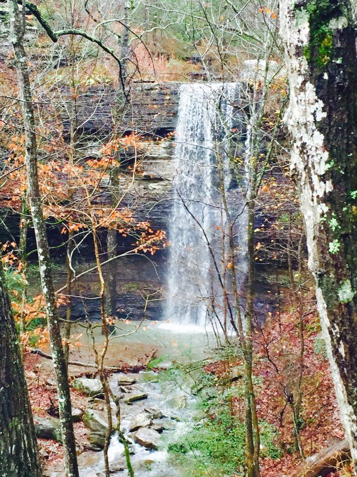 Bridal Veil Falls Heber Springs Arkansas