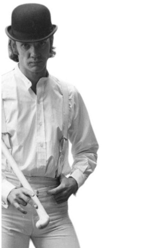 Malcolm McDowell as Alex DeLarge