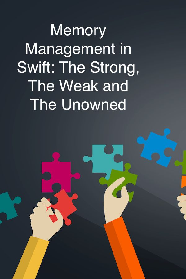 Wave hello to this awesome post! 👋 Memory Management in Swift: The Strong, The Weak and The Unowned http://agostini.tech/2017/07/23/memory-management-in-swift-the-strong-the-weak-and-the-unowned/?utm_campaign=crowdfire&utm_content=crowdfire&utm_medium=social&utm_source=pinterest  #swiftlang  #iosdev  #ios  #swift