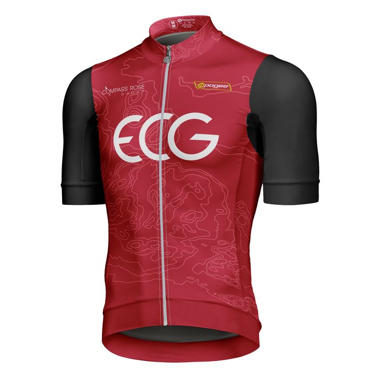 Cycling jersey - Designed and made by Apogee Sports.  Visit www.apogee-sports.com to create your custom apparel!  Client : Équipe Cycliste de Gatineau