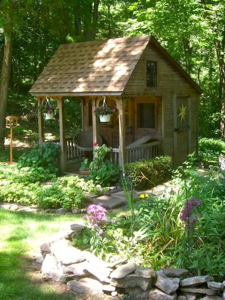 647 Best Cute Shed Ideas Images On Pinterest Greenhouses