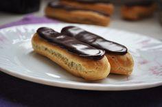 Шоколадные эклеры - рецепт - как приготовить - ингредиенты, состав, время приготовления - Леди Mail.Ru