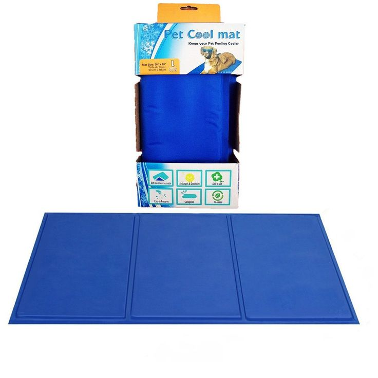 Large Pet Cooling Pad - Cold Chilly Gel Self Cooling Bed for Dogs and Cats - Pet Cooling Mat for Keeping Pets Cool - Perfect Size for Kennels, Crates, Floors, Couch and Car Seats Fragralley >>> Check out the image by visiting the link. (This is an Amazon affiliate link)