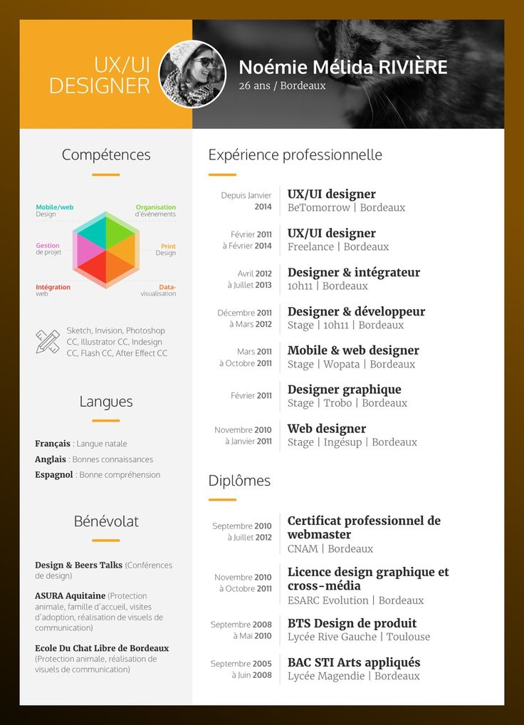 CV #resume #cv #design #sketch