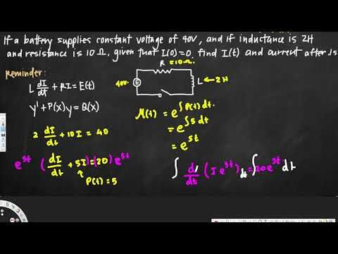 Circuits and linear differential equations
