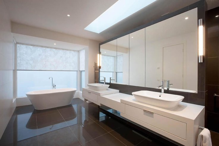 www.canny.com.au ph: (03) 8532 4444  Bathroom from custom home built in Surrey Hills  #bathroom #canny