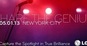 'LG annonce un mystérieux événement «Share The Genius» pour le 1er Mai'