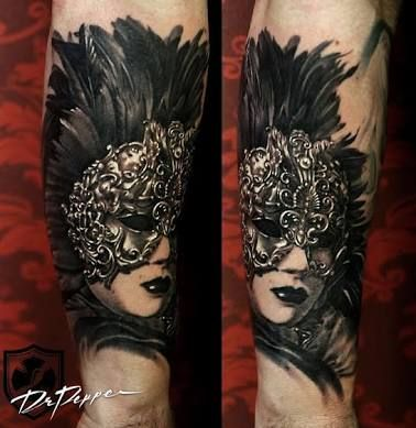 Venetian Mask Tattoos - Google Search