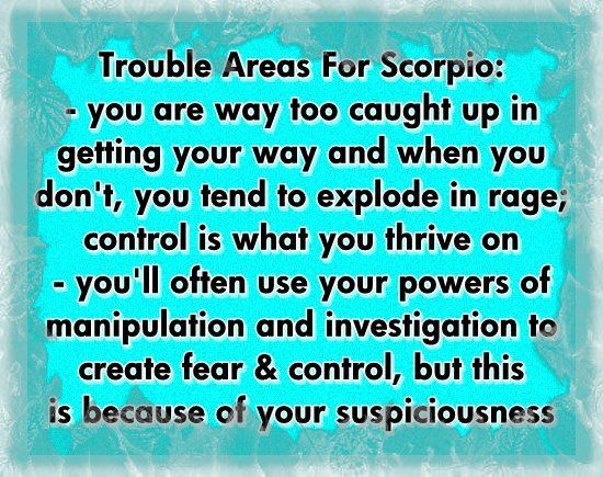 scorpio love horoscopes