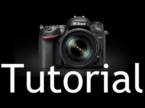 D7200 Overview Training Tutorial (also for Nikon D7100) - YouTube