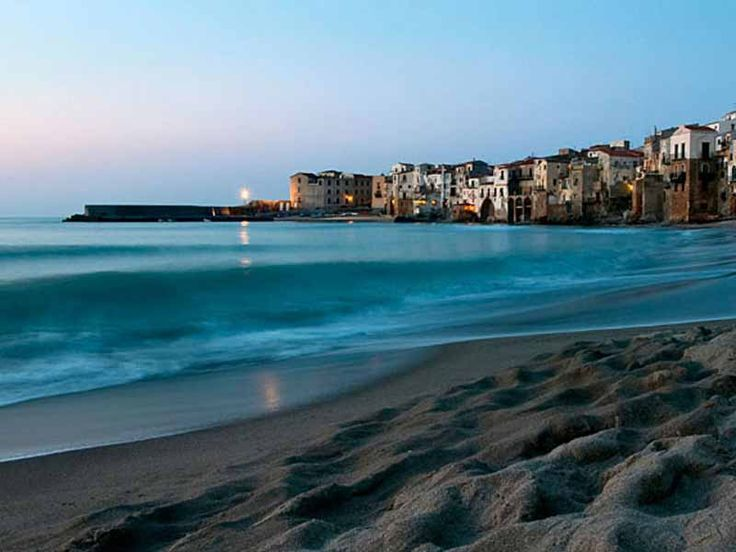 #Sicily #Cefalu. Wonderful Cefalu's beaches and fabulous sea.