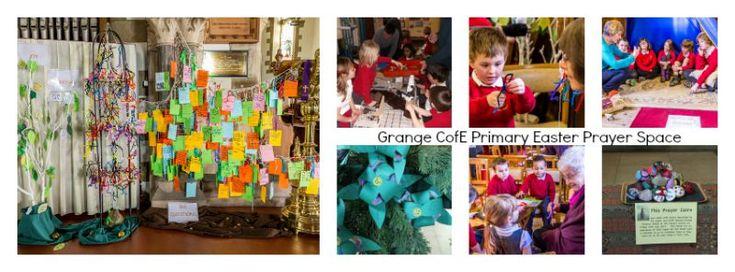 Grange CofE Primary School's Easter Prayer Space 2015