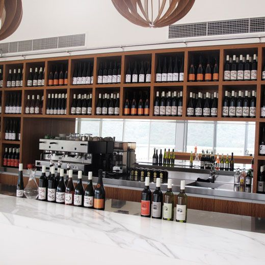 Logan Winery in Mudgee, can take some kitchen inspiration from this. On The Design Files.