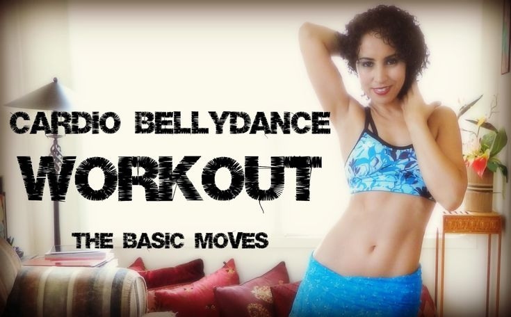 Cardio belly dance workout: the hip hop mix workout for beginners ~ Free belly dance classes online with Tiazza Rose