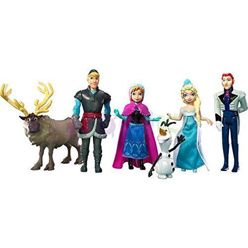 Disney Princesses – La Reine des Neiges – Y9980 – Poupée Mannequin – Pack Personnages Frozen: Descriptif produit: Retrouve les princesses…