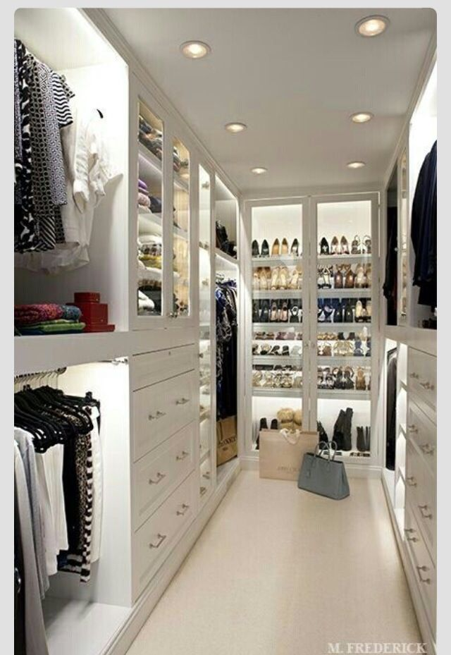 Great storage for narrow spaces. I love this closet.