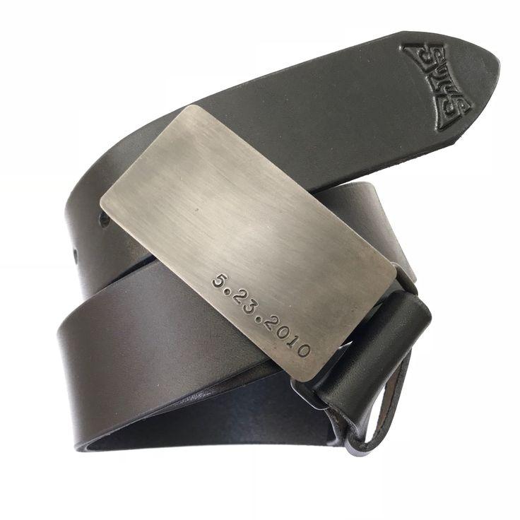 6th iron wedding anniversary gift for him steel belt