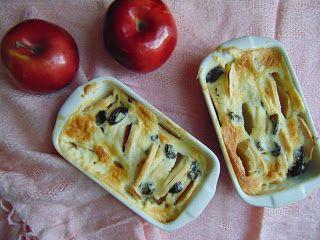 RADOŚĆ KIPIĄCA UŚMIECHEM.: Zapiekanka z jabłek.