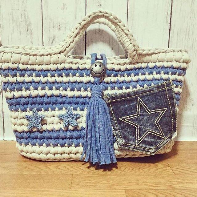 いいね!71件、コメント4件 ― MONOPOP T-SHIRT YARNさん(@monopop_official)のInstagramアカウント: 「 @fujiko_sjlove  #monopop #tshirtyarn #티셔츠얀#패브릭얀 #trapillo #knitting_inspiration #crochet…」