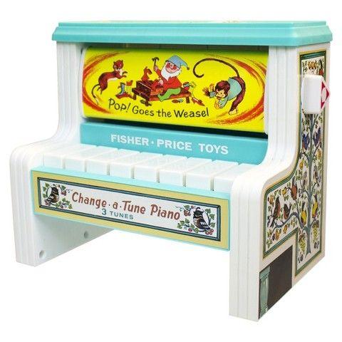 Fisher-Price Change-A-Tune Piano $15