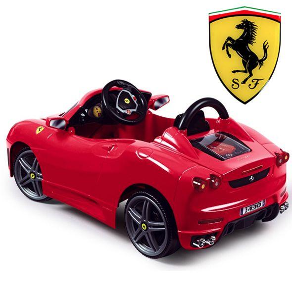 licensed 6v ferrari f430 ride on car 21995 kids electric cars little cars for little people leighton kid stuff pinterest ferrari f430 and