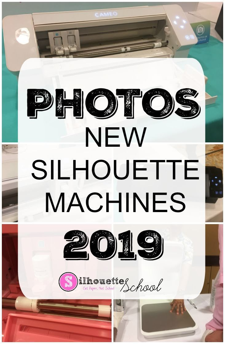 New Silhouette Machines and Products for 2019 in Photos