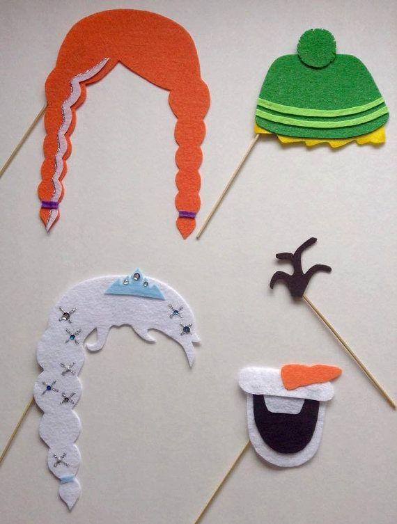 DIY Template Frozen Inspired Elsa Anna Olaf Kristoff by littlelivescount