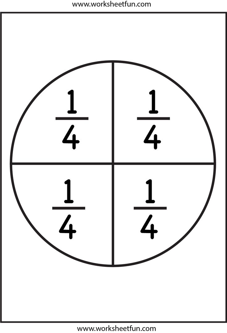 Worksheetfun Circle S : Fraction circles rekenen breuken pinterest math