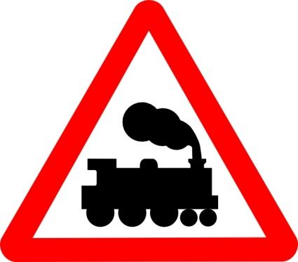 printable train signs   Train Road Signs clip art - Download free Other vectors