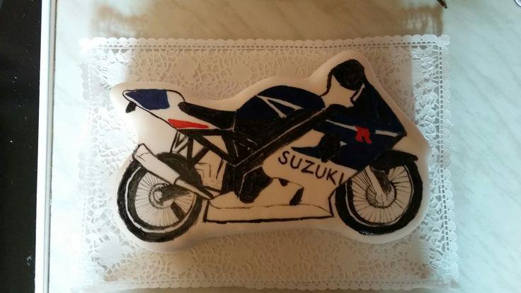 Motobike cake