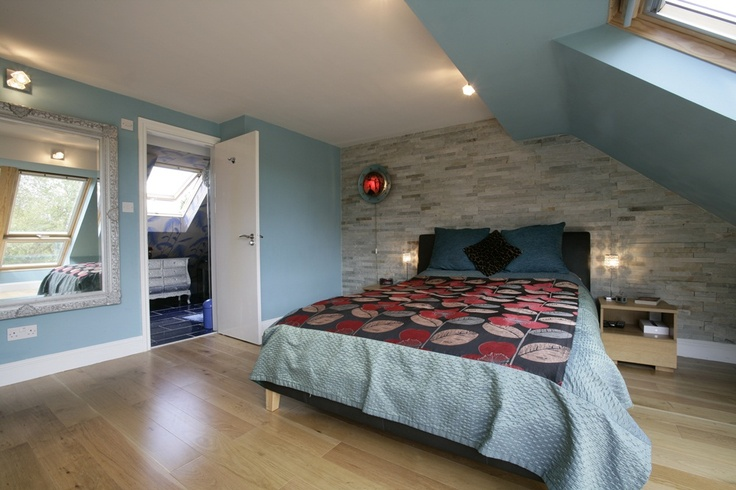 Quirky master bedroom