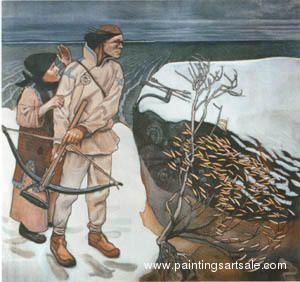 Joukahainen's Revenge - Akseli Gallen-Kallela