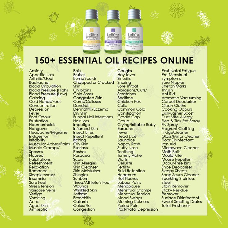 Access over 150 Essential Oil recipes online for FREE. Bookmark this on your phone and have every recipe on hand 24/7 wherever you are! http://www.aromatherapy.net.au/recipe-finder/