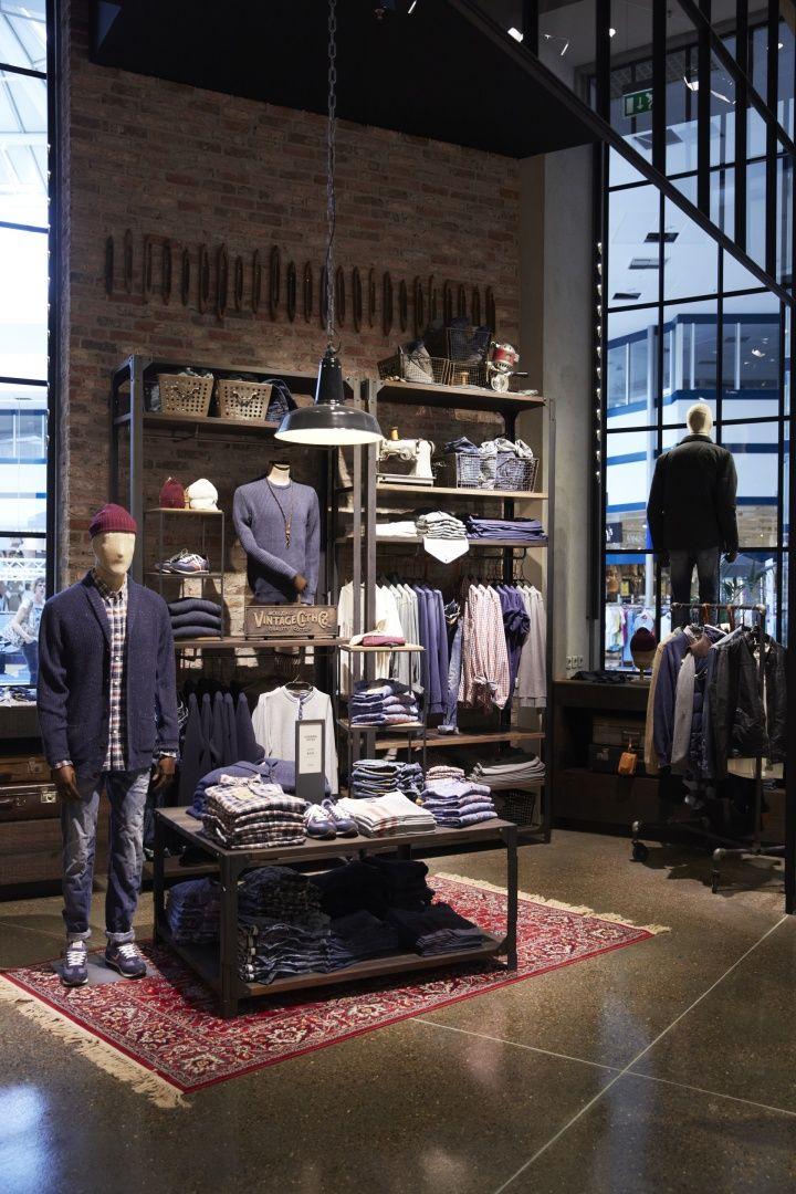 Jack and Jones store by Riis Retail Kolding Denmark, pinned by Ton van der Veer