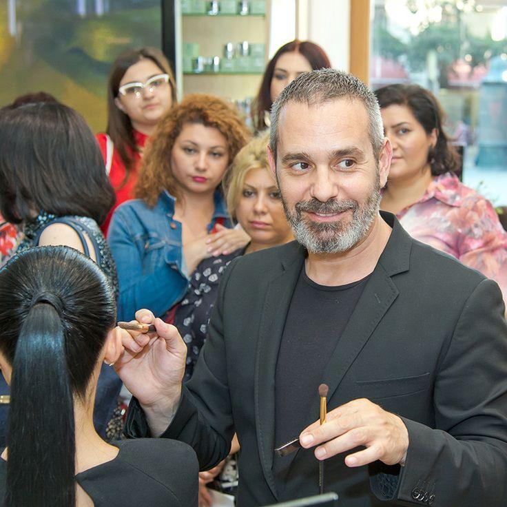 Presentation DolceGabbana MakeUp at Sabina. MakeUp artist Vangelis Thodos