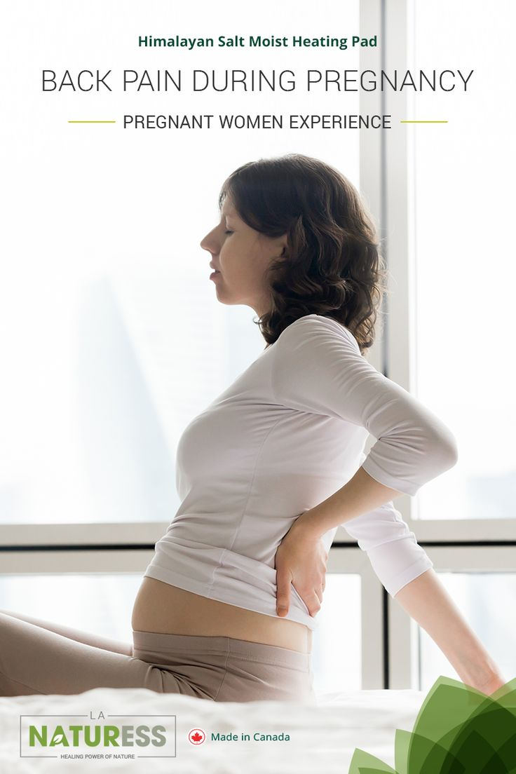 Back Pain During Pregnancy Pregnancy is a beautiful experience in any women's life, but it can also be a tough and painful process. Many women have questions or concerns about the changes that pregnancy brings and therefore, it is vital to have the right information. #LaNaturess #heatingpad #heattherapy #pregnancybackpain