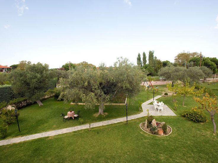 Our full of green #garden !! #Apartments #Vourvourou #Halkidiki http://apartments-panagi.com/