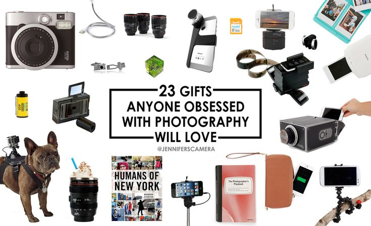 23 Gifts Anyone Obsessed With Photography Will Love!