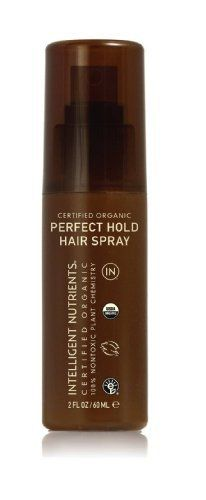 Intelligent Nutrients Certified Organic Perfect Hold Hair Spray, Travel Size, 2 fl oz - http://essential-organic.com/intelligent-nutrients-certified-organic-perfect-hold-hair-spray-travel-size-2-fl-oz/