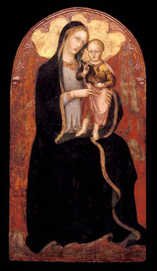 Andrea di Bartolo - Madonna e il Bambino - 1410-1415 - Princeton University Art Museum