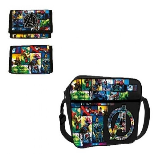 Avengers Avengers Courier Bag and Wallet. Check it out!