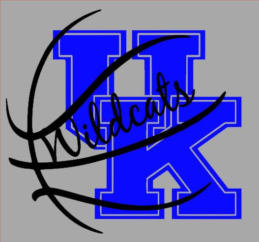 UK Wildcats Large Go Big Blue Wall Decal by LilSouthernGrace
