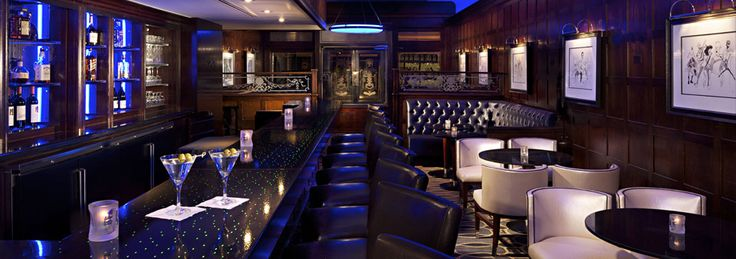 The Blue Bar at The Algonquin Hotel Times Square, Autograph Collection | Luxury New York City Hotel | Midtown Manhattan Hotel | Hotels near Times Square | The Algonquin Hotel