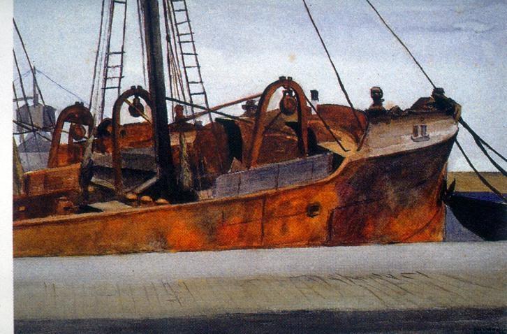 Paint of Edward Hopper | American painting #Art #USA @deFharo