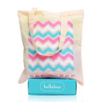 Get $5 Off Your First Bellabox + Receive a BONUS Bellabox totebag if you sign up