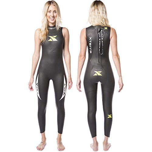 XTERRA Women's Volt Triathlon Wetsuit Sleeveless 3/2mm  http://fishingrodsreelsandgear.com/product/xterra-womens-volt-triathlon-wetsuit-sleeveless-32mm/  ✅ COMFORTABLE, DURABLE, FAST AND AFFORDABLE: The XTERRA Volt is the ultimate triathlon wetsuit that is comfortable, durable, fast and affordable. Get maximum flexibility with 3/2mm neoprene construction. ✅ SUPERIOR PERFORMANCE: XTERRA's High Performance X-FLEX suit liner stretches in all four directions and returns